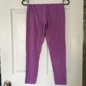❌SOLD❌ Circo purple cotton leggings